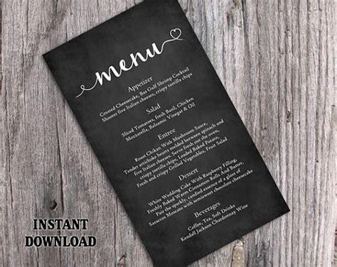 chalkboard menu designs psd ai  premium