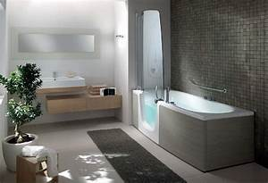 amenagement salle de bain handicape 17 baignoire douche With amenagement salle de bain handicape