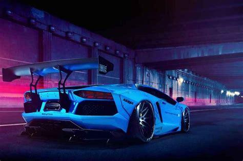 Iphone X Wallpaper 4k Liberty Walk Lamborghini Aventador