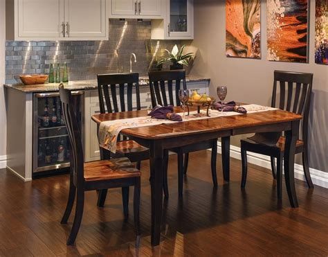 shop   amish canterbury dining room set
