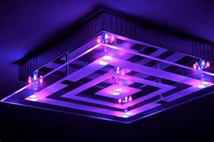 Led Farbwechsel Lampe Mit Fernbedienung : design lampe led farbwechsel fernbedienung deckenlampe deckenleuchte leuchte neu ebay ~ Buech-reservation.com Haus und Dekorationen