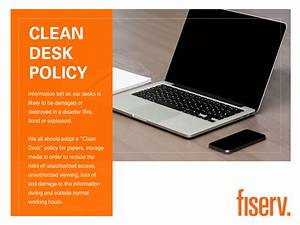 Clean Desk Policy Template Stephanie Vargas Graphic Designer Front End Web Developer