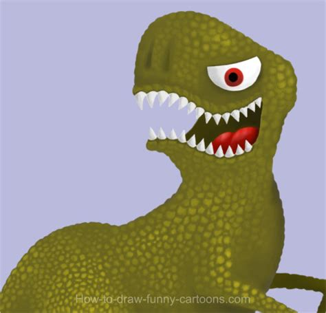 dinosaur drawing cartoon painting