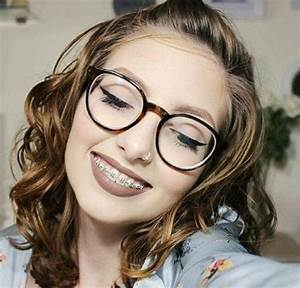 #braces #braceface #metalbraces #girlswithbraces #glasses ...