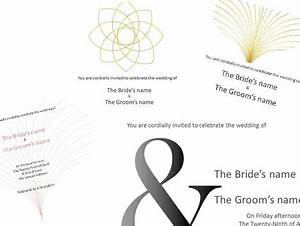 wedding invitations With wedding invitation template for powerpoint