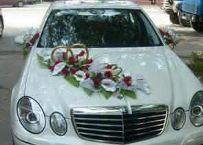 voiture mariage la décoration de voiture de mariage c 39 est faisable