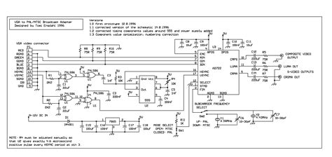 vga to rca diagram wiring diagrams schematics and av cable
