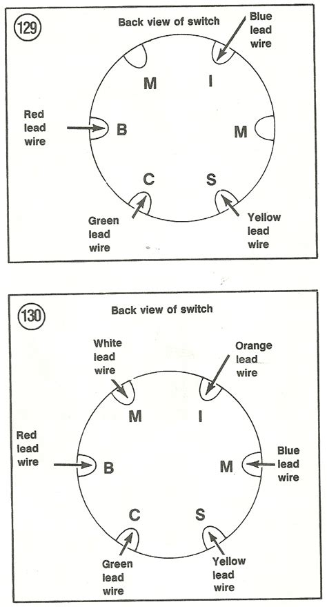 6 Wire Ignition Switch Diagram by I Need The Wiring Diagram For The Ignition Switch For A