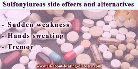 sulfonylureas side effects  alternatives