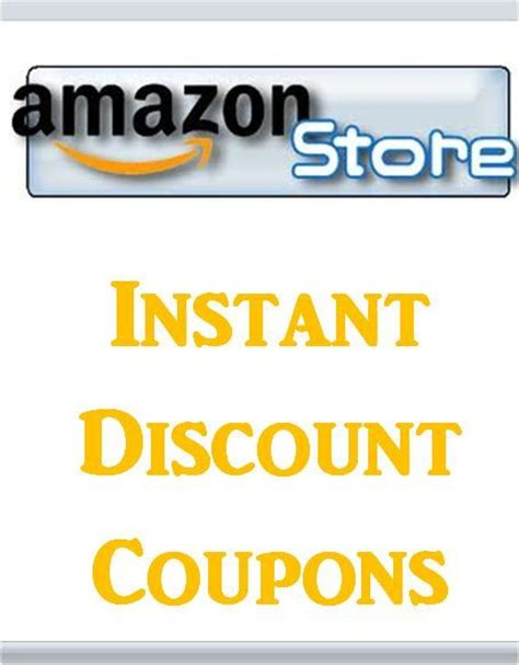 Amazon Store Instant Discount Coupons Showcases Top Brands