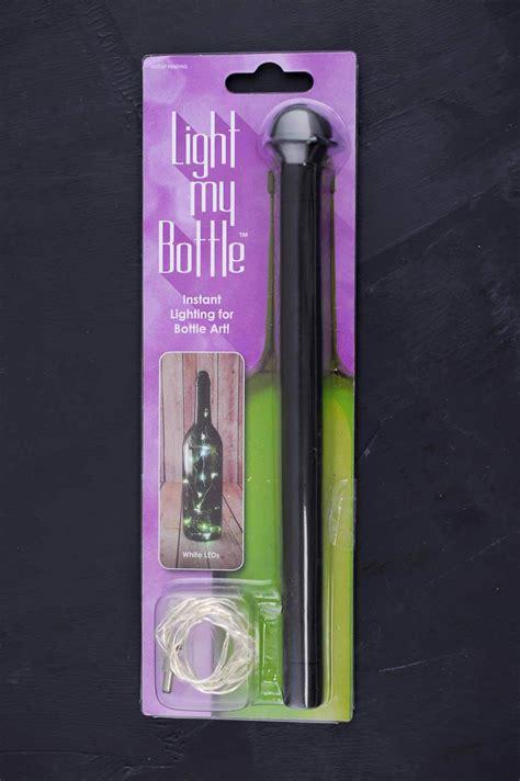 wine bottle led lights light my bottle