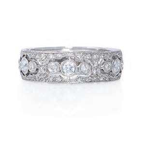 Antique Diamond Wedding Bands Women