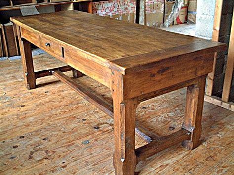 bureau a vendre pas cher table de ferme ancienne en chene massif table de lit
