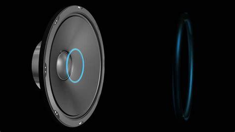 speaker emiting waves animation  alpha hd
