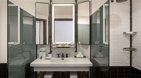 Seattle Bathroom Fixtures by Luxury Boutique Hotels Downtown Seattle Thompson Seattle