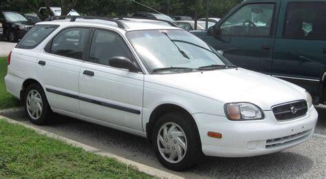 old car manuals online 2002 suzuki esteem parking system 2002 suzuki esteem glx sedan 1 8l auto