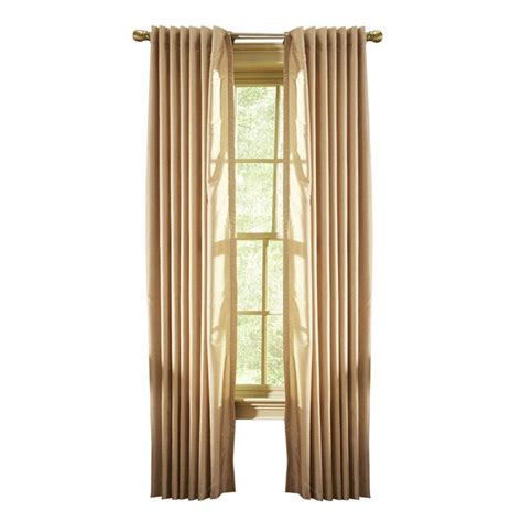 martha stewart curtains martha stewart living faux silk back tab curtain