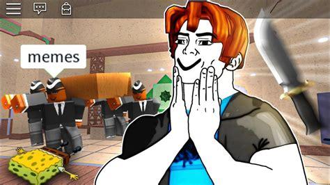 ROBLOX Murder Mystery 2 Funny Moments (MEMES) | Prank Sense