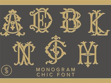 interlocking monogram font google search   monogram chic monogram fonts monogram