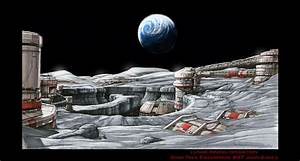 Futuristic Moon Base (page 4) - Pics about space