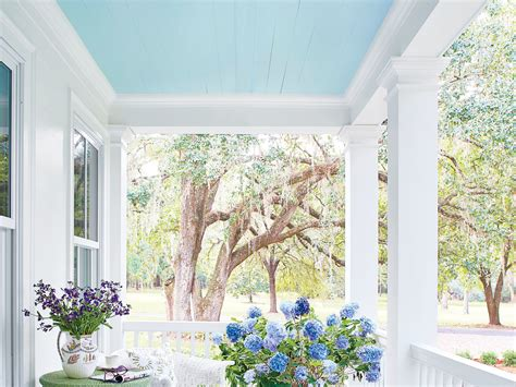 this is the haint blue for your porch according to our home editor southern living
