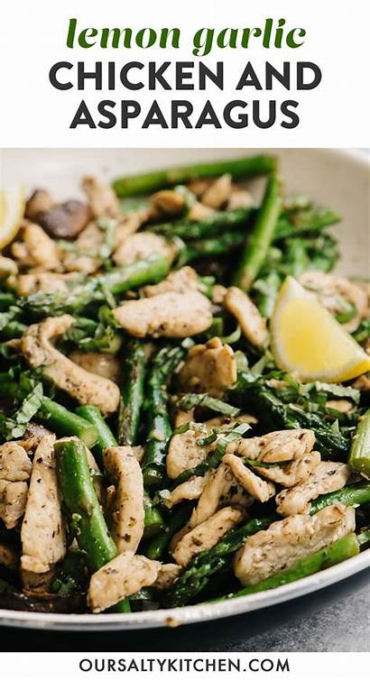 Chicken Garlic Lemon Asparagus Recipe