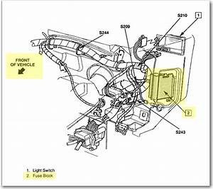 1993 Chevy S10 Fuse Diagram 25830 Netsonda Es