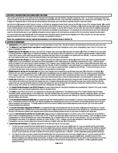 irs repayment plan form income based ibr pay as you earn income contingent