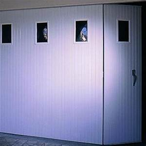 porte de garage coulissante pvc cobtsacom With porte de garage coulissante avec chatiere porte pvc