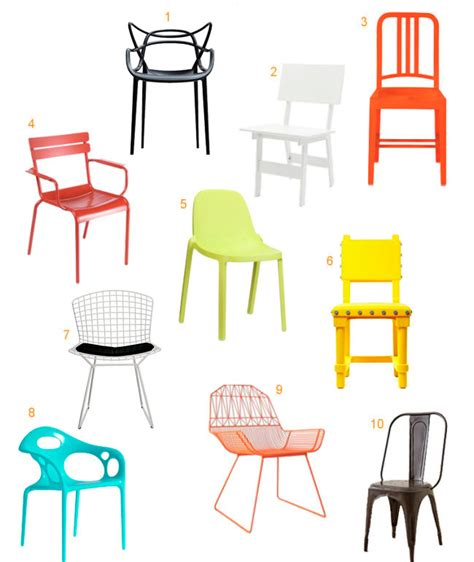 10 colorful modern outdoor dining chairs design milk