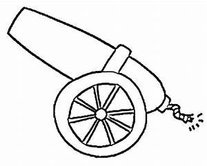Drawing A Cannon - ClipArt Best