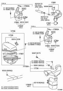 1997 Toyota Camry Valve  Vacuum Switch