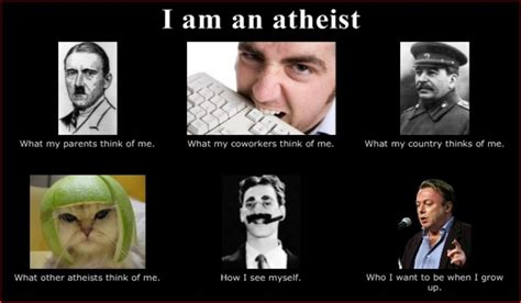 Atheist Meme - laughing in purgatory march 2012