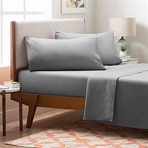 LINENSPA Brushed Microfiber Ultra Soft Bed Sheet Set ...