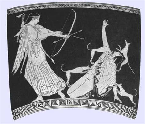 actaeon images  pinterest artemis greek