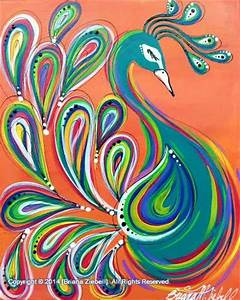 Simple Paintings Of Peacock | www.pixshark.com - Images ...