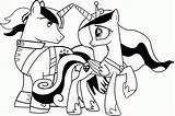Coloring Pony Pages Boy Printable Magic Friendship Popular sketch template