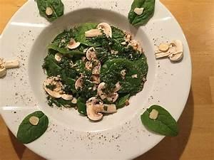 Rezepte Mit Babyspinat : salat mit babyspinat champignons und haseln ssen rezept ~ Lizthompson.info Haus und Dekorationen