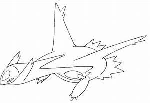 and latios coloring pages