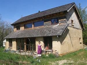 maison en paille en auto construction a vendre pres de With maison ecologique en paille