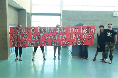 uplifting prom proposal  straight teen