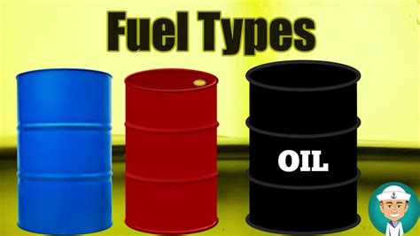 Marine Fuel Types