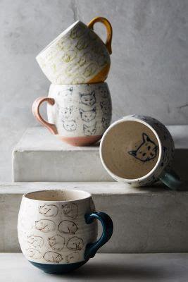 cat study mug anthropologie