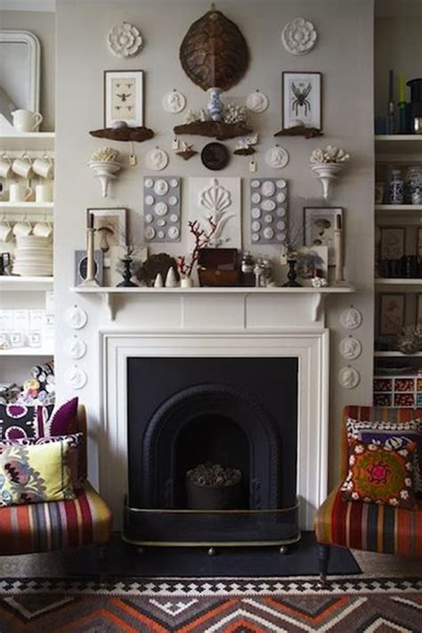 How To Decorate Above A Fireplace Fireplace Design Ideas