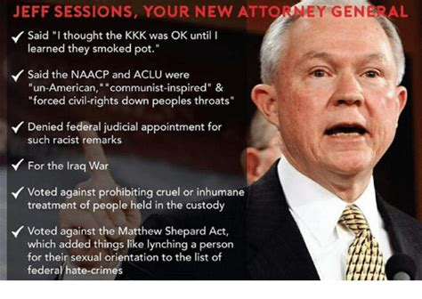 Ag Jeff Sessions The St Century Klan Grand Wizard