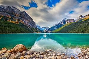 Lake, Louise, -, Unique, Places, Around, The, World