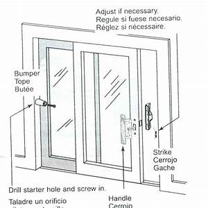 Sliding Balcony Door Parts