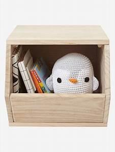 Cube En Bois Rangement : cube de rangement toys bois vertbaudet ~ Melissatoandfro.com Idées de Décoration