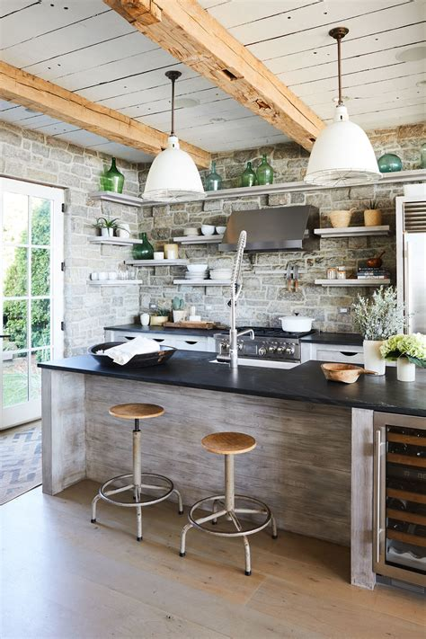 rustic kitchens modern country rustic kitchen