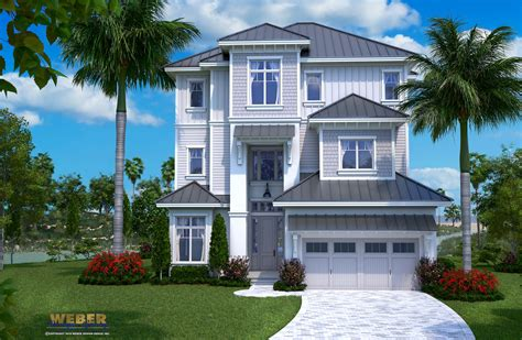 beach house plan open layout beach home floor plan with pool